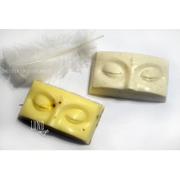 Silicone mold - Buddha eyes - for making soaps, candles and figurines
