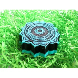 Silicone mold - Oriental pattern - for making soaps, candles and figurines